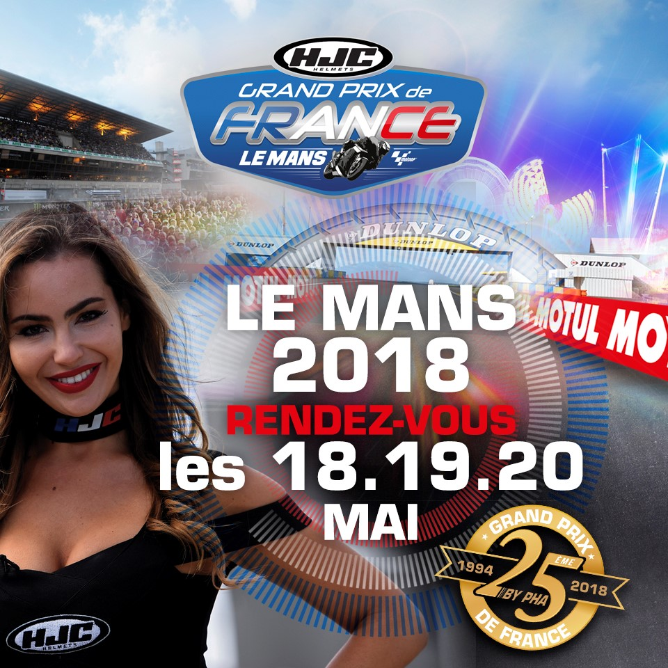 rendez vous les 18 19 et 20 mai 2018 au mans grand prix de france moto le mans 2018. Black Bedroom Furniture Sets. Home Design Ideas