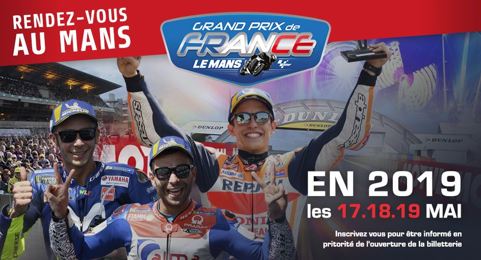 Grand Prix de France Moto - Le Mans - 2018